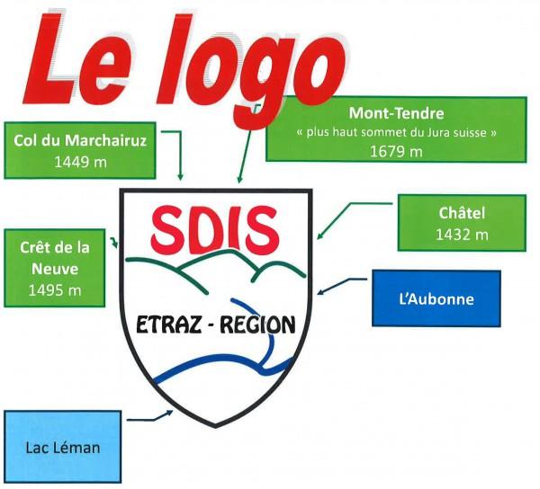 Logo SDIS Etraz-Région